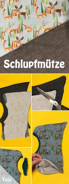 Anleitung - Schlupfmütze nähen - Schalmütze - Talu.de