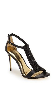 8850d366a38eb0 Ted Baker London  Primrose  Crystal Embellished Leather Sandal (Women)