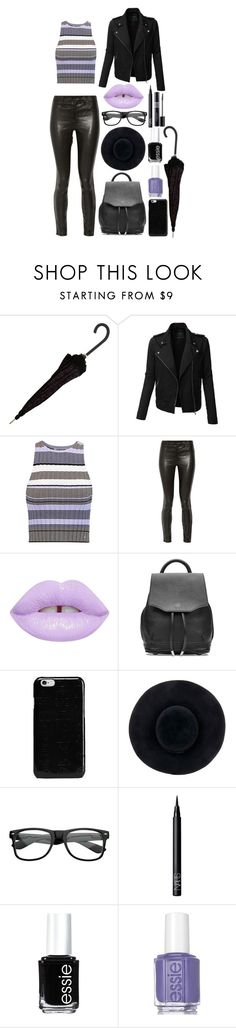 """""""Untitled #340"""" by allyyy09 ❤ liked on Polyvore featuring LE3NO, Elizabeth and James, J Brand, Lime Crime, rag & bone, Maison Margiela, Eugenia Kim, ZeroUV, NARS Cosmetics and Christian Dior"""