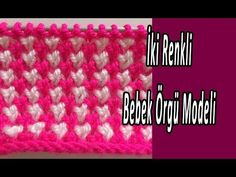 Two Color Baby Knitting Models Crochet Crafts, Friendship Bracelets, Youtube, Dots, Blue Prints, Youtubers, Youtube Movies, Friend Bracelets