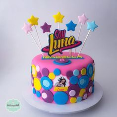 A place for people who love cake decorating. Soy Luna Cake, Fondant Cakes, Cupcake Cakes, Rainbow Dash Party, Bithday Cake, Snowman Cake, Son Luna, Fiesta Party, Love Cake