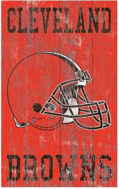 Give your home décor all-star appeal with this Cleveland Browns wall art. Oregon Ducks Football, Ohio State Football, Ohio State Buckeyes, Football Stuff, American Football, Go Browns, Browns Fans, Cleveland Browns Football, Custom Cornhole Boards