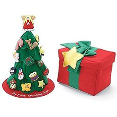 My First Christmas Tree Soft Toy Bag