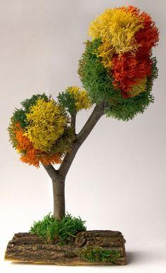 Fee Garten Baum künstlichen Formschnitt Herbst Fall Herzstück | Etsy
