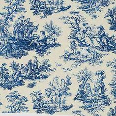 Toile De Jouy Sometimes Abbreviated To Simply Toile Is