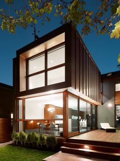 Altius #Architecture designed the contemporary renovation of a family home in Toronto, Ontario.