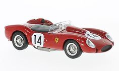 Ferrari 250 TR, No.14, 24h Le Mans 1958, IXO 1:43, is now available atModelcarworld:http://ow.ly/lPe030fz3lsAmerican-Excellence:http://ow.ly/v1Ya30fz3lF