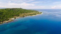The beach @ Vitalis Villas, Philippines