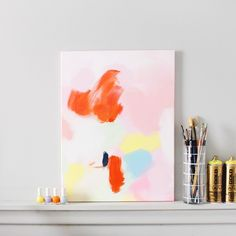 How to Make This $3600 Anthropologie Acrylic Wall Art for Next to Nothing | Brit + Co