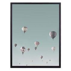 FLYING BALLOONS POSTER - Veggenmin.no Flying Balloon, Balloons, Poster, Home Decor, Rome, Globes, Decoration Home, Room Decor, Balloon