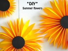 Summer flowers by BeColorAnd   Project   Papercraft / Decorative   Kollabora