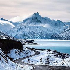 Mount Cook Road  Photo by @rach_stewart_nz  www.modernoutdoorsman.com