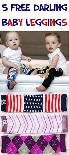 5 FREE Pairs of Darling Baby Leggings! {just pay s/h} ~ these make great gifts for Babies, too!