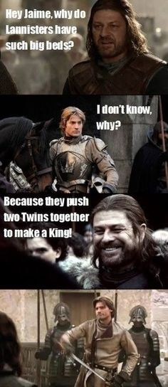 The Lannister Twins
