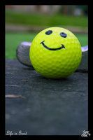 My golf ball had a smiley face on it. Life Is Good All Smiles, Smiley, Life Is Good, Good Things, Deviantart, Life Is Beautiful, Smileys, Emoticon