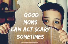 """I Scare Myself Sometimes - Honest Parenthood - (Do any of you every feel like this? """"While it may seem counter-intuitive, these seemingly horrible moments are in the service of your best self. When we act in ways that alarm us, it gets our attention, and points right to where we need help."""")"""