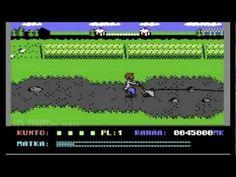 Uuno Turhapuro Muuttaa Maalle (C64)