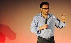Simon Sinek, at TEDxScottAFB. His TED talk 'How leaders inspire action' has inspired millions. Inspirational Videos For Teachers, Best Ted Talks, Strike A Chord, Simon Sinek, Talk Too Much, Job Search Tips, Self Help, Leadership, Coaching