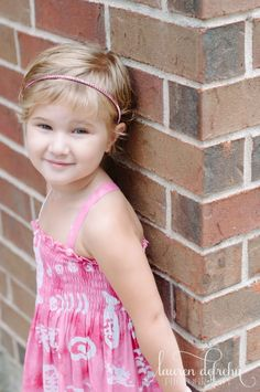 Houston Children's Photographer – Lauren DeFrehn Photography; Child portrait; little girl portrait