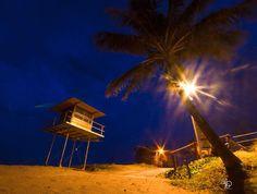 Lifeguard Tower 1 - Rainbow Bay. Pre-dawn this morning by currumbinali