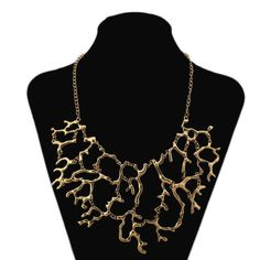 Charm Chunky Crystal Statement Bib Chain Choker Pendant Necklace Fashion Jewelry #Unbranded #Chain