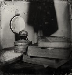 Wet Plate Collodium 41x41 cm clear glass