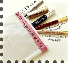 CONTEST ! Judith's Top 5 in her Makeup Bag:JudithAugustCosmetics.com - Coverup & Conceal Just About Everything