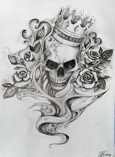 Image from http://img09.deviantart.net/8cec/i/2012/016/d/e/tattoo___skull_by_aqata16-d218su3.jpg.
