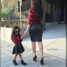 Tal mãe, tal filha!