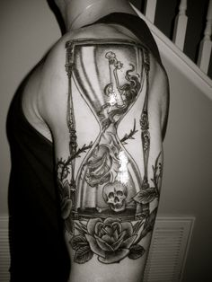 Hourglass tattoo designs can be done in a number of ways, and one may also add additional elements such as flowers, wings or even skulls. Description from tattoosforyou.org. I searched for this on bing.com/images
