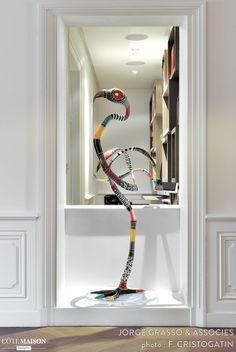 Appartement haussmannien quai de Saône Lyon, Jorge Grasso - Côté Maison Projets