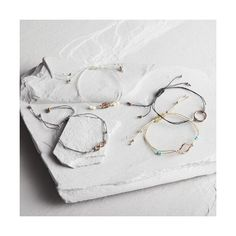 Cost Plus World Market Gold Friendship Bracelets Set of 4 ($13) ❤ liked on Polyvore featuring jewelry, bracelets, gold bangles, tri color gold jewelry, beaded jewelry, friendship bracelet and gold jewellery