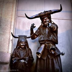 """""""Diablos de Luzón"""" Guadalajara. Spain. Photo Carlos Jiménez / photoAlquimia ©"""