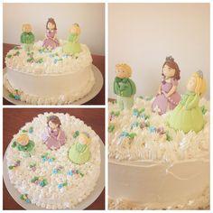 Princesa Sofia... Torta en merengue