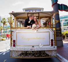 Ashley and Kyle are married! San Diego Wedding Photographer, Gas Lamp…