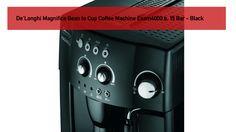 De'Longhi Magnifica Bean to Cup Coffee Machine 15 Bar - Black Easy To Use, Drip Coffee Maker, Beanie, Kitchen Appliances, Bar, Coffee Machine, Tools, Diy Kitchen Appliances, Instruments