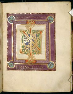 Heinrich, Römisch-Deutsches Reich, Kaiser, II.: Gospel - BSB Clm 4454, Reichenau, the top 11 Century [BSB Hss Clm 4454] - Image 399
