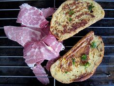 Thyme & Goat Cheese French Toast