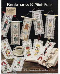 Bookmarks & Mini Pulls / Counted Cross Stitch Pattern