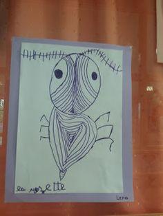 la classe de JJ: J'invente un insectes