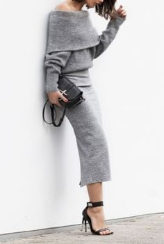 Gray on gray, a seasonless staple