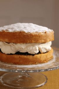 My never fail Victoria sponge - Recipes from a Normal Mum Food Cakes, Cupcake Cakes, Cupcakes, Tea Cakes, Cake Cookies, Victoria Sandwich Cake, Baking Recipes, Dessert Recipes, Fruit Cake Recipes
