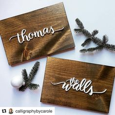 """36 Likes, 4 Comments - Fine Line Supply Co. (@finelinesupply) on Instagram: """"We love seeing the finished product when we laser cut items for clients. Laser cut calligraphy for…"""""""