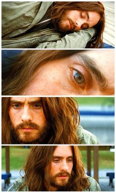 JL in Mr. Nobody -- love him soo much in this movie. He did a great job. He even played the last mortal..