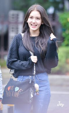 Find images and videos about JYP, ioi and somi on We Heart It - the app to get lost in what you love. Kpop Girl Groups, Korean Girl Groups, Kpop Girls, K Wallpaper, Jeon Somi, Fashion Idol, Asian Celebrities, Korean Outfits, Airport Style