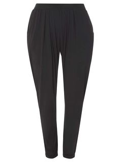 Dorothy Perkins Womens **DP Curve Black Jersey Joggers- Black Black jersey jogging bottoms with elasticated waistband and cuff. Inside leg length approximately 70cm. 97% Viscose, 3% Elastane. Machine washable. http://www.MightGet.com/april-2017-1/dorothy-perkins-womens-dp-curve-black-jersey-joggers-black.asp