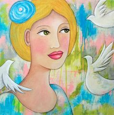 """An Overwhelming Peace"" - Original Fine Art for Sale - © Paulette Insall"