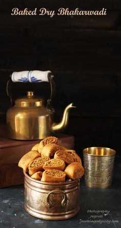 Tasty and Delicious Gujarati -Maharashtrian snack Bhakarwadi made healthy by baking it. Indian Snacks, Indian Food Recipes, Vegetarian Recipes, Brunch Recipes, Breakfast Recipes, Snack Recipes, Savoury Recipes, Dessert Recipes, Cooking Recipes