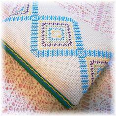 スウェーデン刺繍 × カルトナージュ