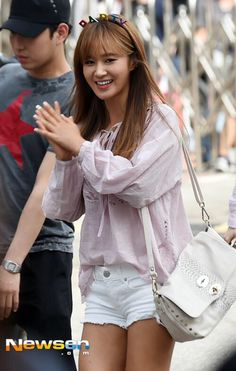150710 SNSD YURI arrival at KBS Building #PARTY